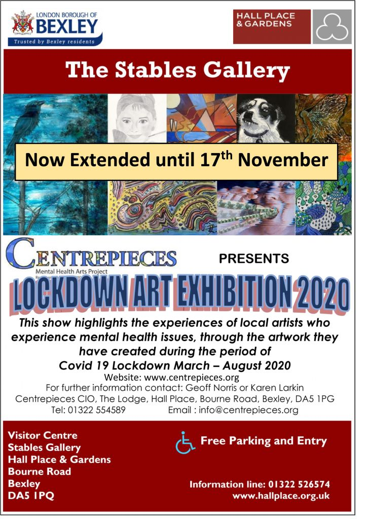 Centrepieces Exhibition Poster